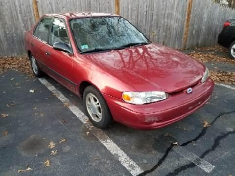 2001 Chevrolet Prizm for sale at Suburban Auto Technicians LLC in Walpole MA