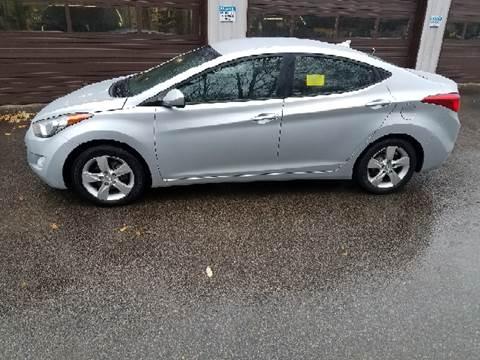2012 Hyundai Elantra for sale at Suburban Auto Technicians LLC in Walpole MA
