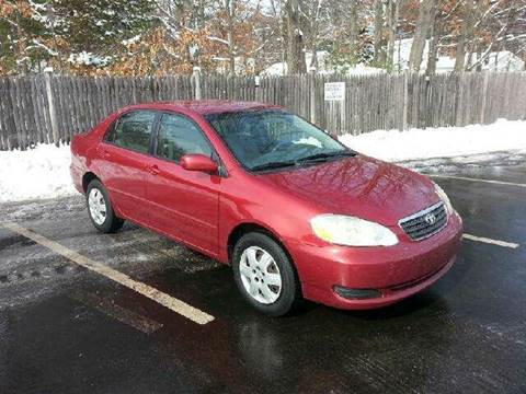 2005 Toyota Corolla for sale at Suburban Auto Technicians LLC in Walpole MA