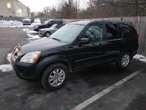 2006 Honda CR-V for sale at Suburban Auto Technicians LLC in Walpole MA
