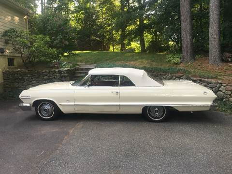 1963 Chevrolet Impala for sale at Suburban Auto Technicians LLC in Walpole MA