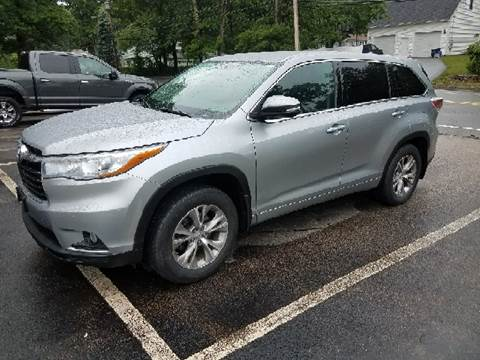 2015 Toyota Highlander for sale at Suburban Auto Technicians LLC in Walpole MA