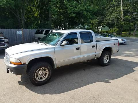 2004 Dodge Dakota for sale at Suburban Auto Technicians LLC in Walpole MA