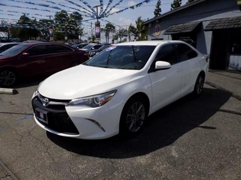2016 Toyota Camry for sale in Bellflower, CA