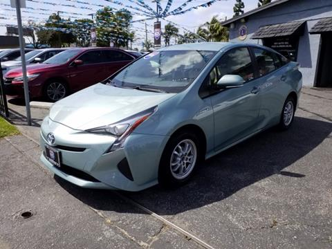 2016 Toyota Prius for sale in Bellflower, CA