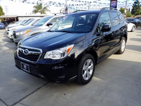 2016 Subaru Forester for sale in Bellflower, CA