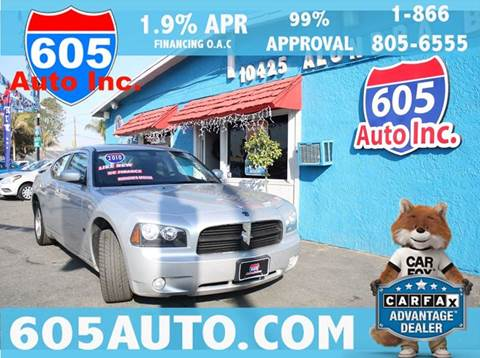 2010 Dodge Charger for sale at 605 Auto  Inc. in Bellflower CA
