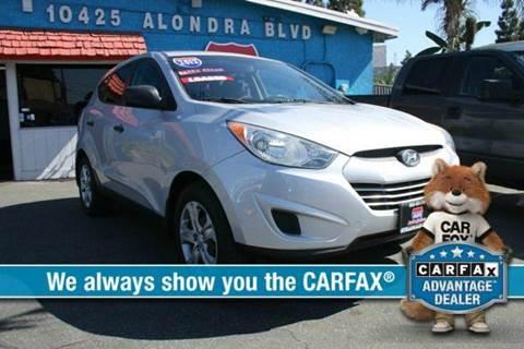 2012 Hyundai Tucson for sale at 605 Auto  Inc. in Bellflower CA