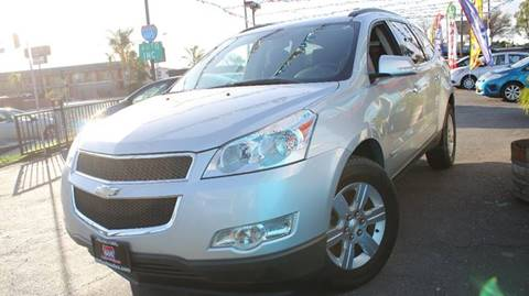 2012 Chevrolet Traverse for sale at 605 Auto  Inc. in Bellflower CA