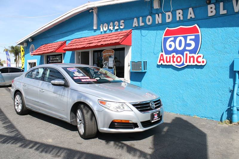 2012 Volkswagen CC for sale at 605 Auto  Inc. in Bellflower CA