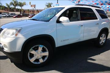 2007 GMC Acadia for sale at 605 Auto  Inc. in Bellflower CA