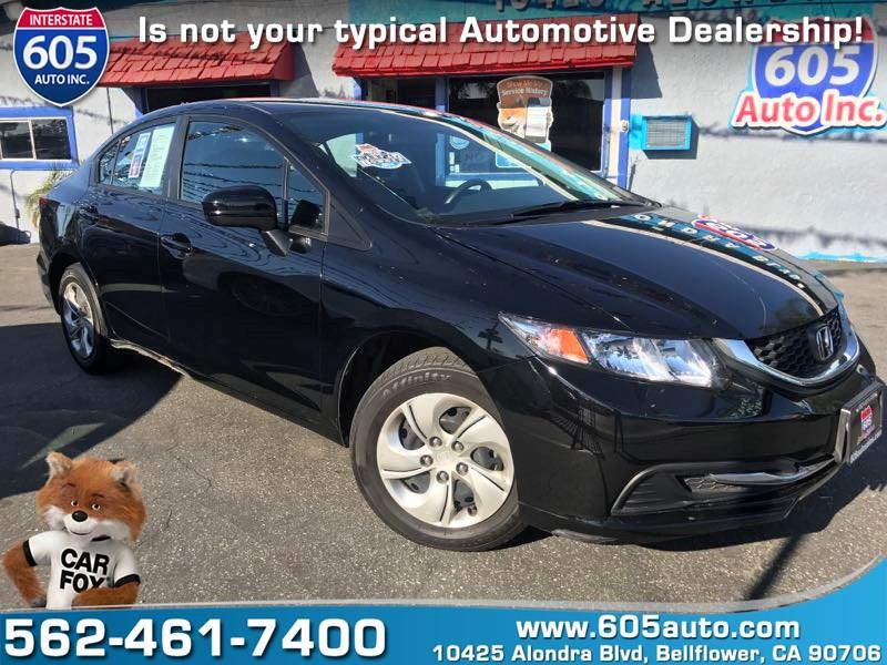 2015 Honda Civic for sale at 605 Auto  Inc. in Bellflower CA