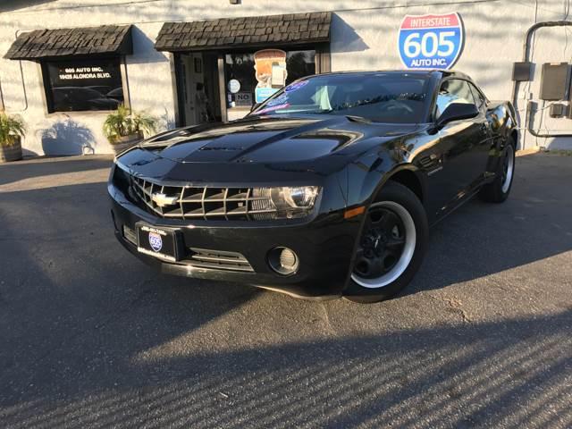 2012 Chevrolet Camaro for sale at 605 Auto  Inc. in Bellflower CA