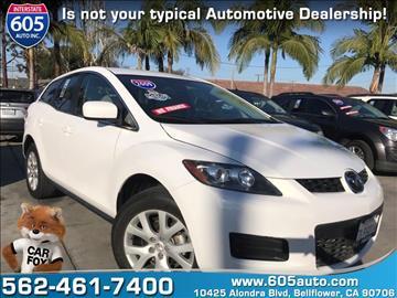 2009 Mazda CX-7 for sale at 605 Auto  Inc. in Bellflower CA