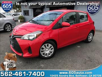 2015 Toyota Yaris for sale in Bellflower, CA