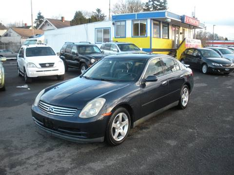 2003 Infiniti G35 for sale in Portland, OR