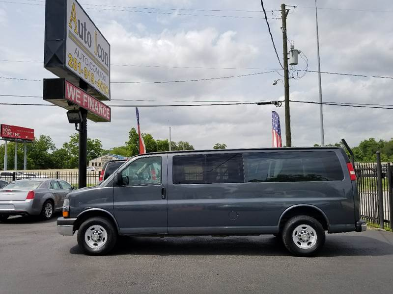 2014 Chevrolet Express Passenger LT 3500 3dr Extended Passenger Van w/1LT - Houston TX
