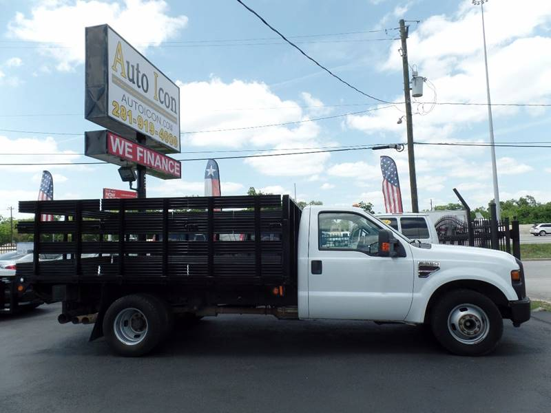 2009 Ford F-350 Super Duty 4x2 XL 2dr Regular Cab 165 in. WB DRW Chassis - Houston TX