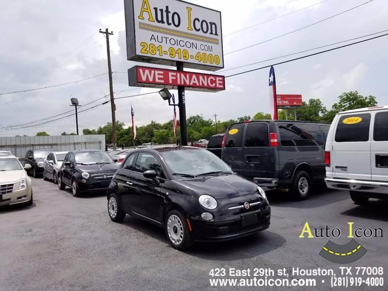 2015 FIAT 500 Pop 2dr Hatchback - Houston TX