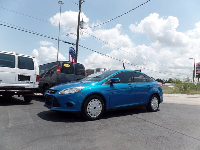 2013 Ford Focus SE 4dr Sedan - Houston TX