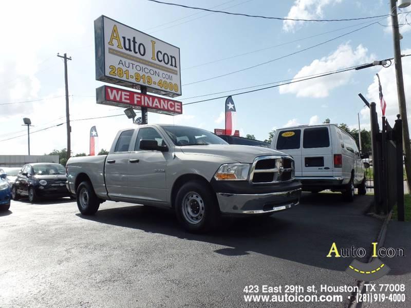 2010 Dodge Ram Pickup 1500 4x2 ST 4dr Quad Cab 6.3 ft. SB Pickup - Houston TX