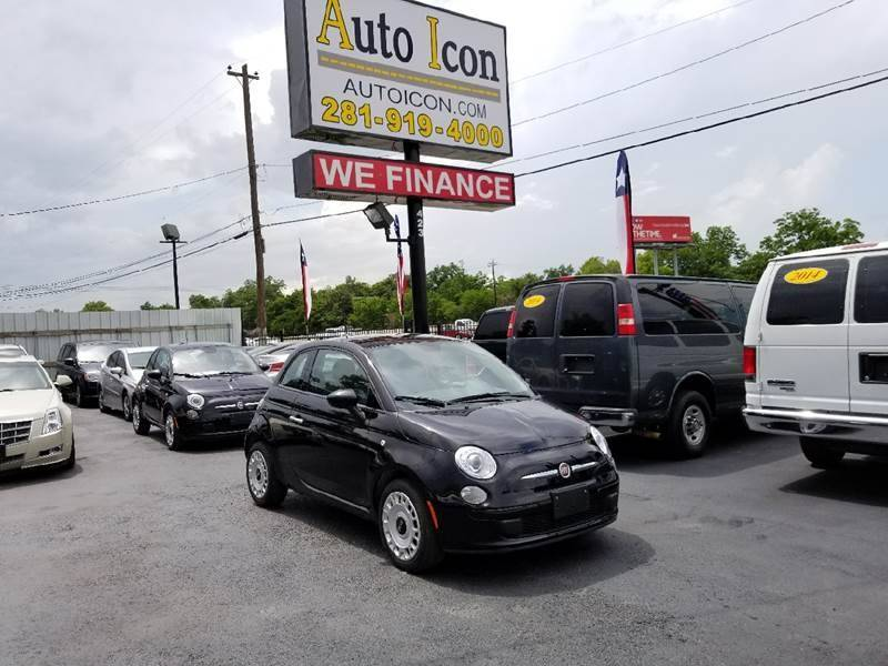 2015 FIAT 500 Pop 2dr Hatchback - Houston TX