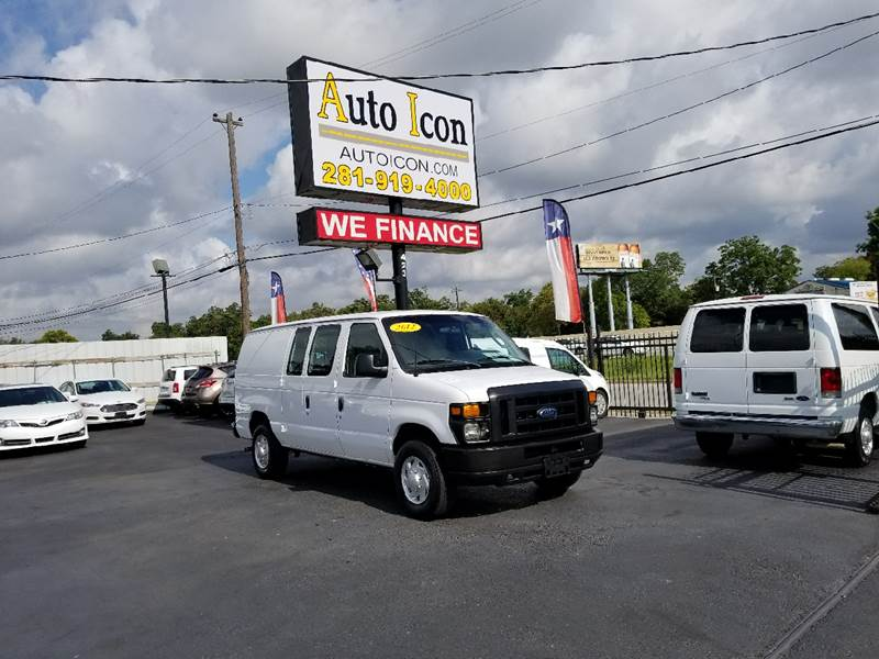 2012 Ford E-Series Cargo E-250 3dr Cargo Van - Houston TX