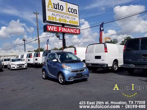 2015 Smart fortwo for sale in Houston, TX