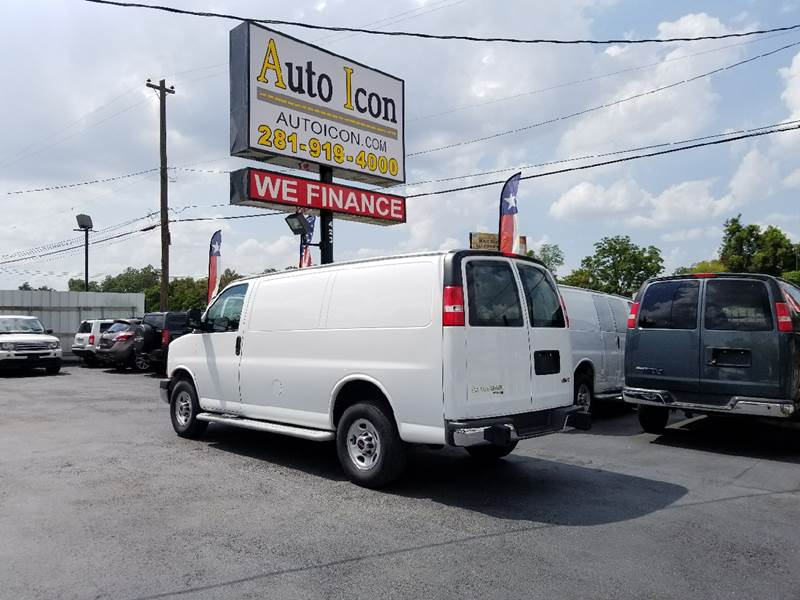 2015 GMC Savana Cargo 2500 3dr Cargo Van w/1WT - Houston TX