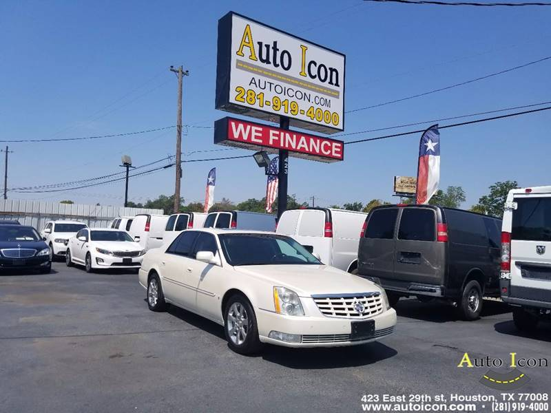 prevnext white sedan dealer dts loaded up premium cadillac pearl wp car