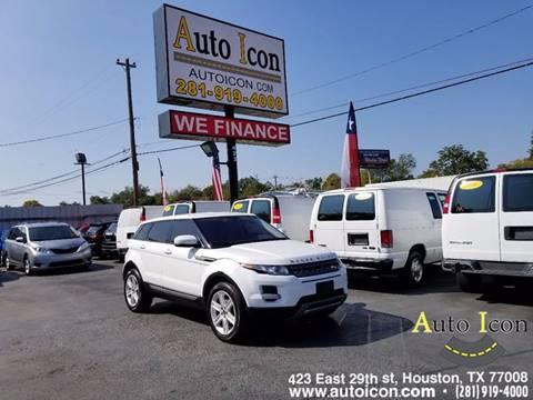 2013 Land Rover Range Rover Evoque for sale in Houston, TX