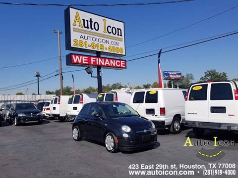 2013 FIAT 500 for sale in Houston, TX