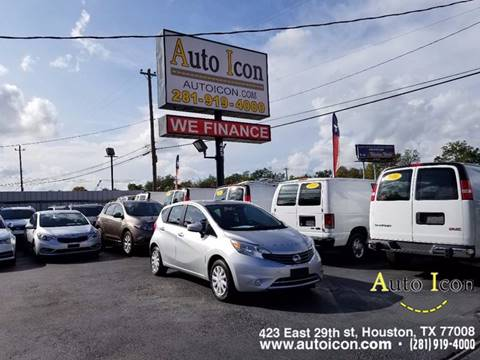 2015 Nissan Versa Note for sale in Houston, TX