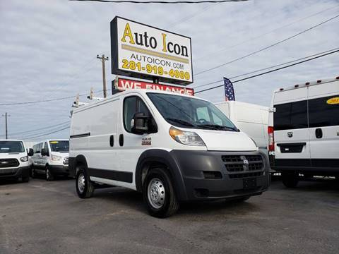b23c09e1666ee5 2015 RAM ProMaster Cargo for sale at Auto Icon in Houston TX