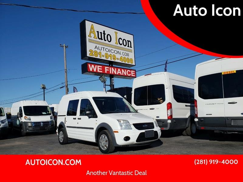 2013 Ford Transit Connect Cargo Van Xlt In Houston Tx Auto Icon