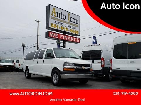 2017 Chevrolet Express Passenger for sale in Houston, TX