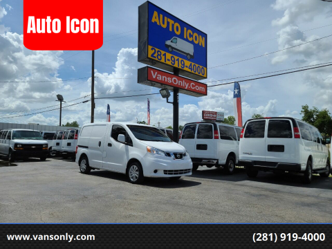 2015 Nissan NV200 for sale at Auto Icon in Houston TX