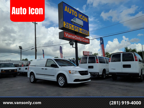 2015 RAM C/V for sale at Auto Icon in Houston TX