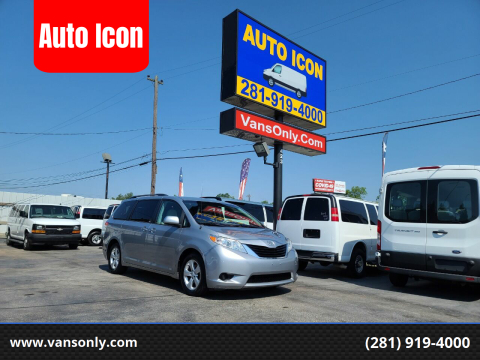 2014 Toyota Sienna for sale at Auto Icon in Houston TX