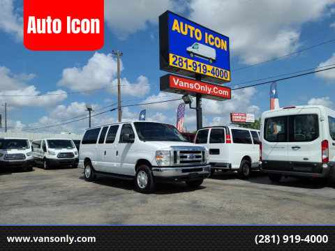 2013 Ford E-Series Wagon for sale at Auto Icon in Houston TX