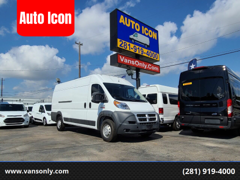 2015 RAM ProMaster Cargo for sale at Auto Icon in Houston TX