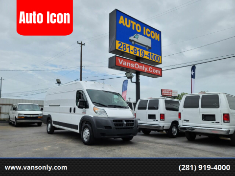 2018 RAM ProMaster Cargo for sale at Auto Icon in Houston TX