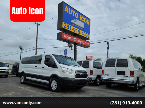 2016 Ford Transit Passenger for sale at Auto Icon in Houston TX