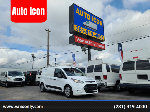2015 Ford Transit Connect Cargo for sale at Auto Icon in Houston TX