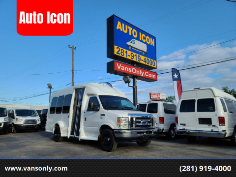2012 Ford E-Series Chassis for sale at Auto Icon in Houston TX