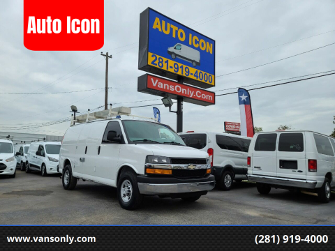 2015 Chevrolet Express Cargo for sale at Auto Icon in Houston TX