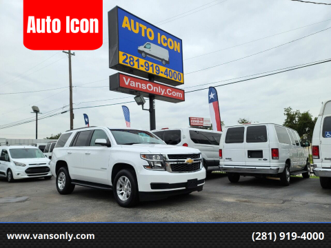 2019 Chevrolet Tahoe for sale at Auto Icon in Houston TX