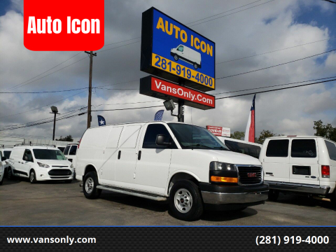 2017 GMC Savana Cargo for sale at Auto Icon in Houston TX