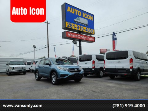 2015 Honda CR-V for sale at Auto Icon in Houston TX