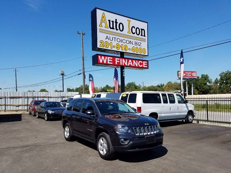 2014 Jeep Compass for sale at Auto Icon in Houston TX